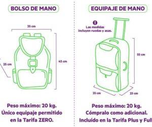 equipaje permitido sky airline