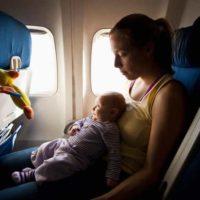 niños y bebes con sky airline