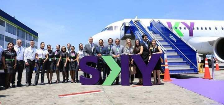 sky airline planes y metas 2019