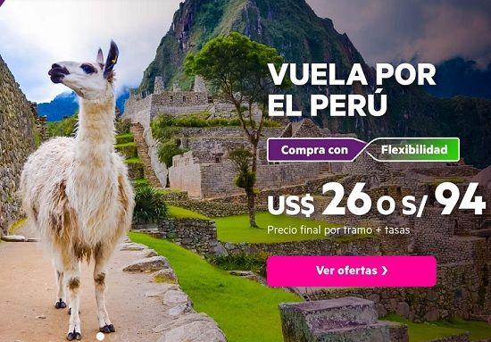 Vuela por el Perú con Sky Airline