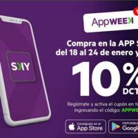 app week sky airline promocion