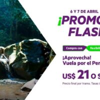 promo flash abril 2021 sky airline